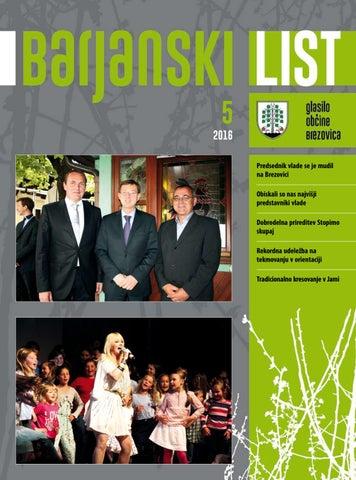 Barjanski list maj 2016