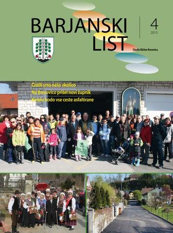 Barjanski list april 2015