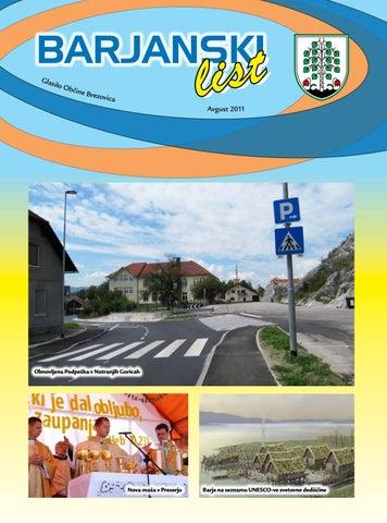 Barjanski list avgust 2011