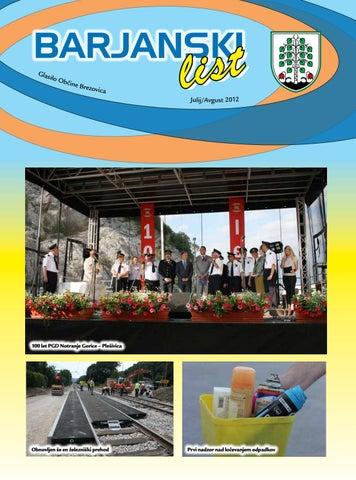 Barjanski list avgust 2012