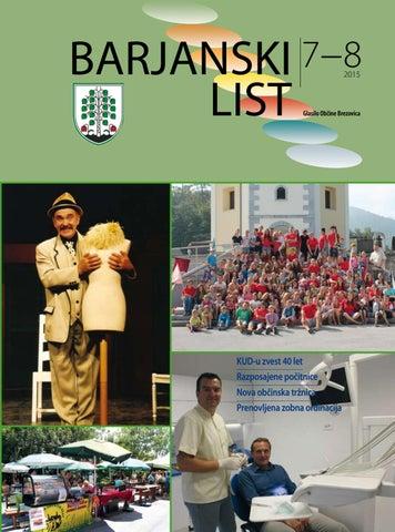 Barjanski list avgust 2015