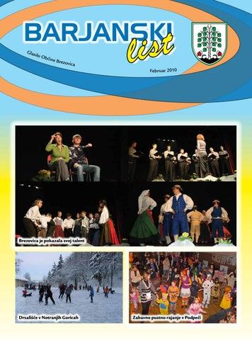 Barjanski list februar 2010