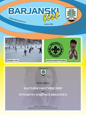 Barjanski list januar 2009