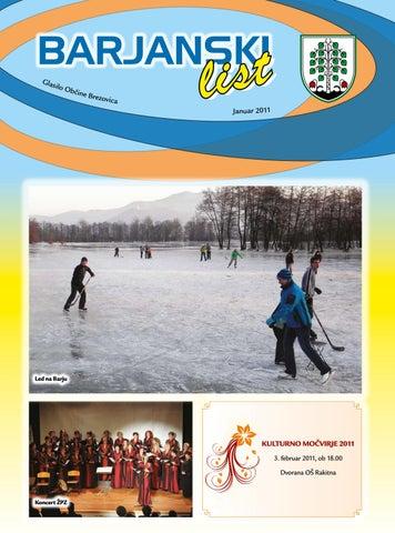 Barjanski list januar 2011