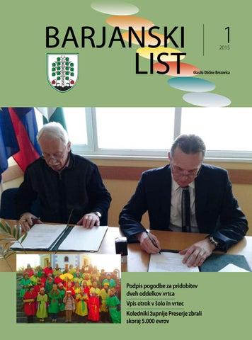 Barjanski list januar 2015