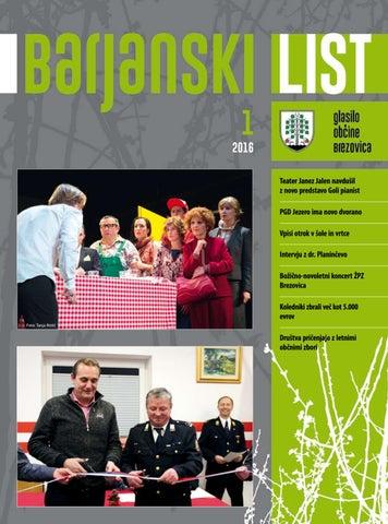 Barjanski list januar 2016