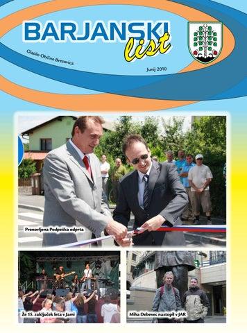 Barjanski list junij 2010