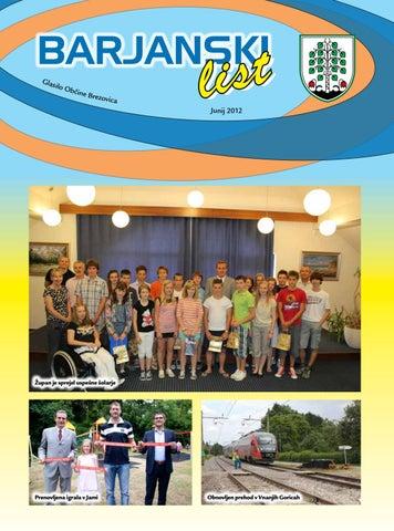 Barjanski list junij 2012