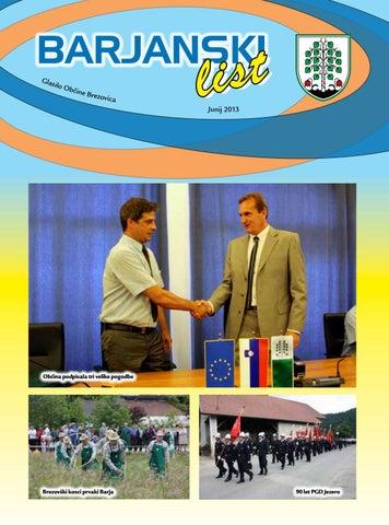 Barjanski list junij 2013