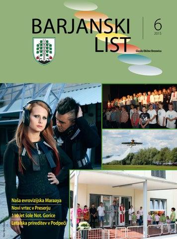 Barjanski list junij 2015