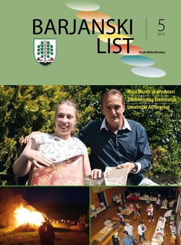 Barjanski list maj 2015