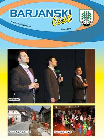 Barjanski list marec 2011