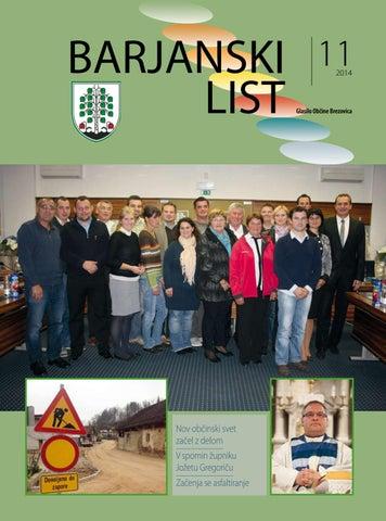 Barjanski list november 2014