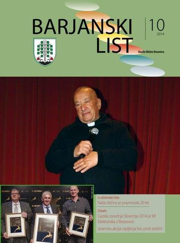 Barjanski list oktober 2014