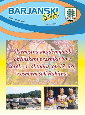 Barjanski list september 2011