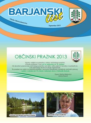 Barjanski list september 2013