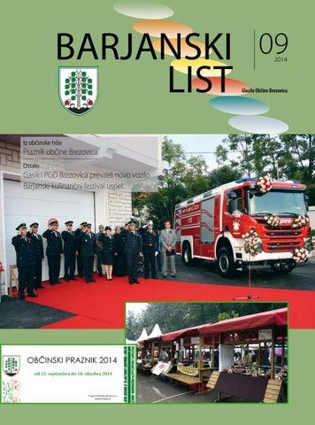 Barjanski list september 2014