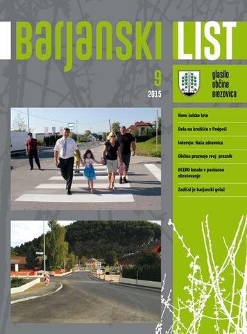 Barjanski list september 2015