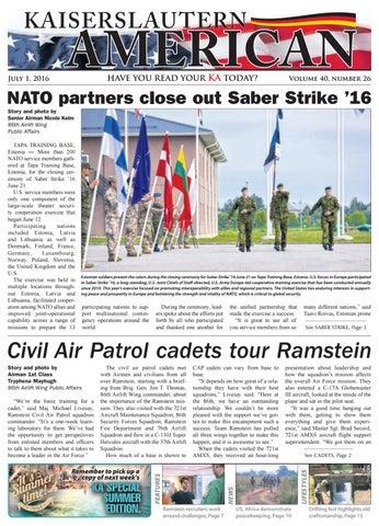 Kaiserslautern American, July 1, 2016