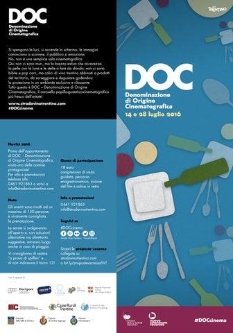DOC - Denominazione di Origine Cinematografica 2016