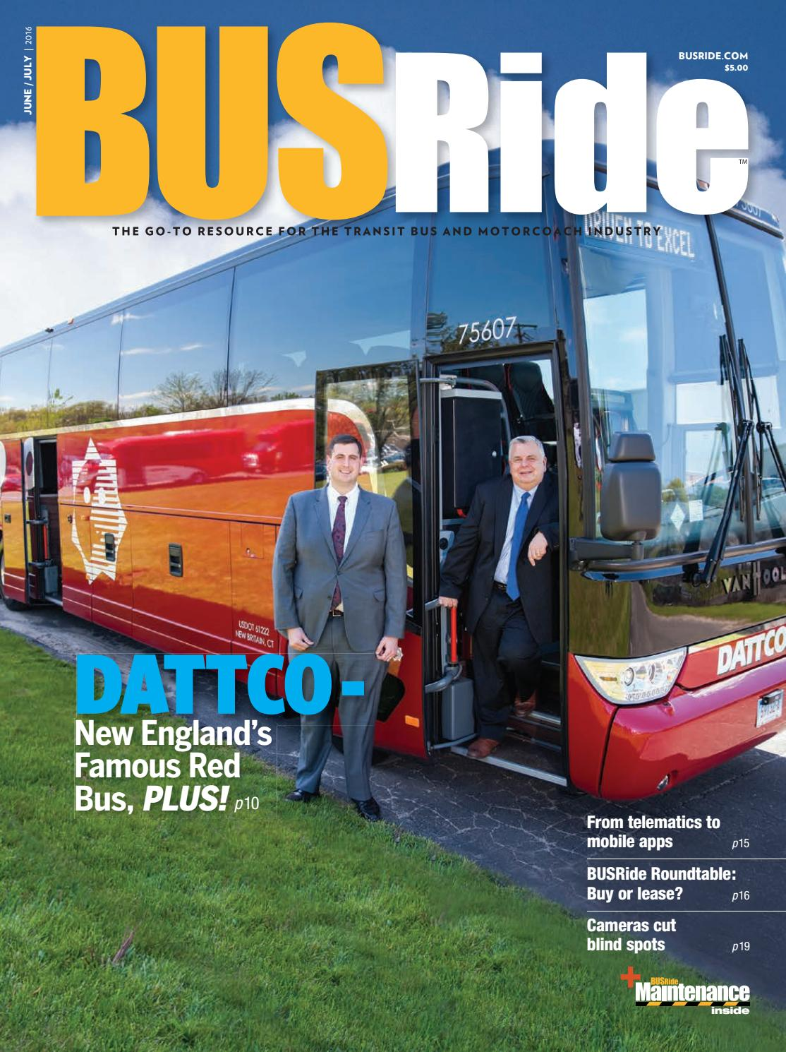 Busride Magazine June-july 2016 By Power Trade Media