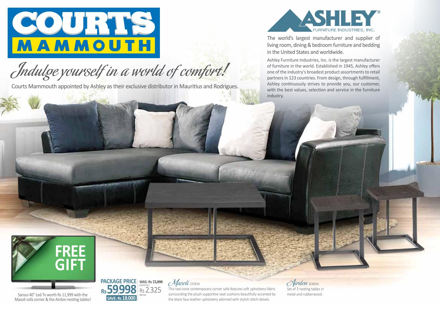 Courts Mammouth Mauritius Ashely Furniture New