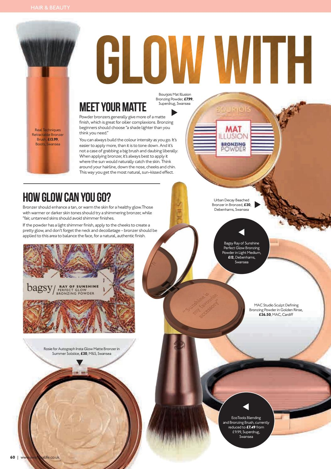 Swansea Life July 2016 By Swansea Life (page 60) Issuu How To Apply Bronzer