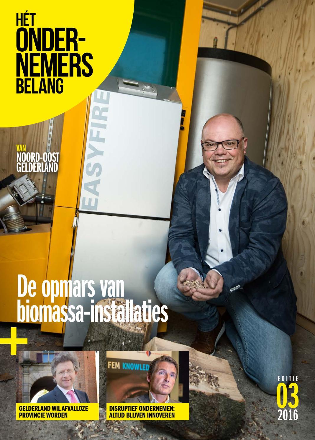 Het ondernemersbelang noord oost gelderland 3 2016 by uitgeverij ...