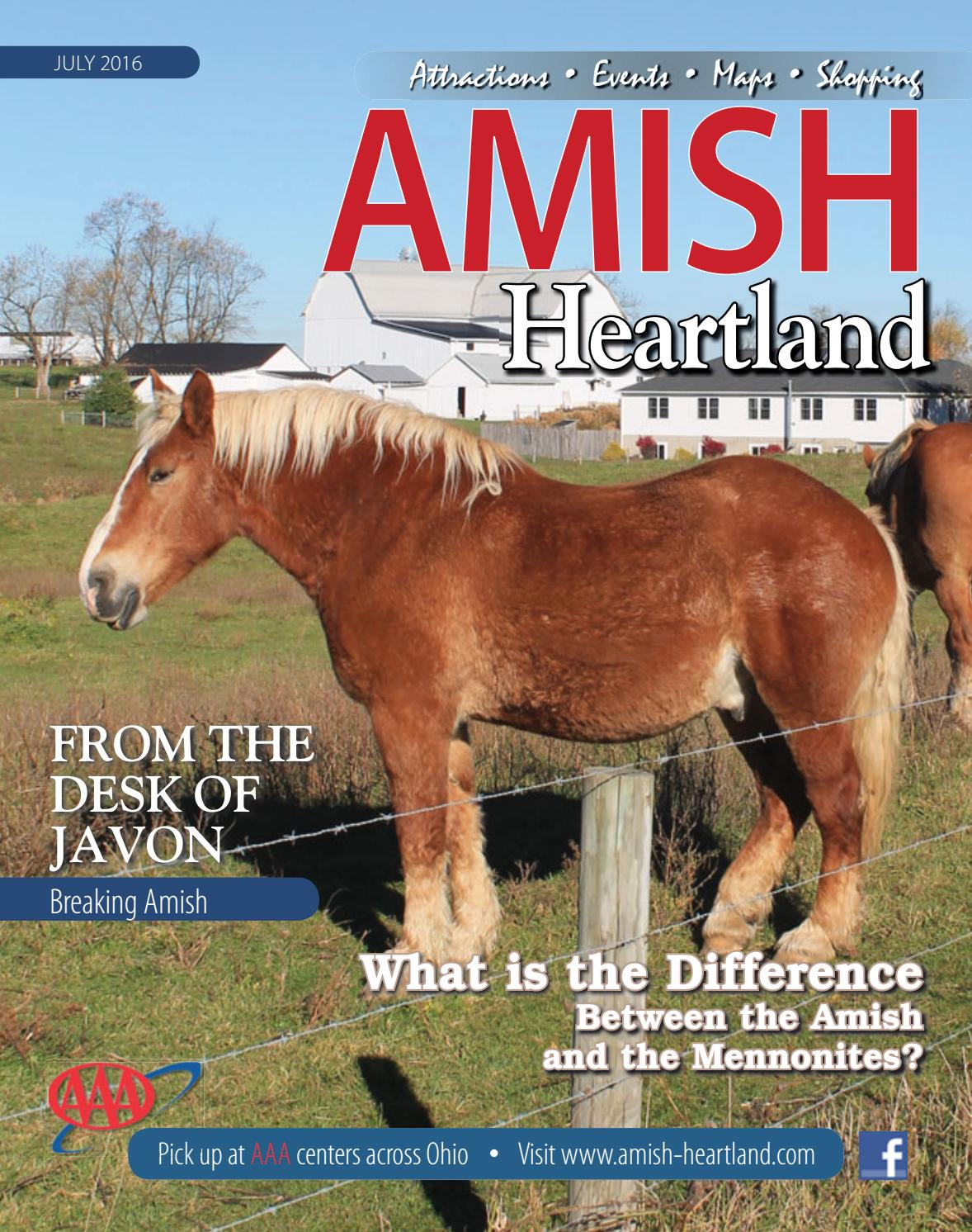 2013 amish country map ors guide by kurt kleidon