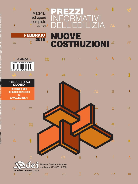 Prezzario nuove costruzioni febbraio 2015 by dei tipografia del ...