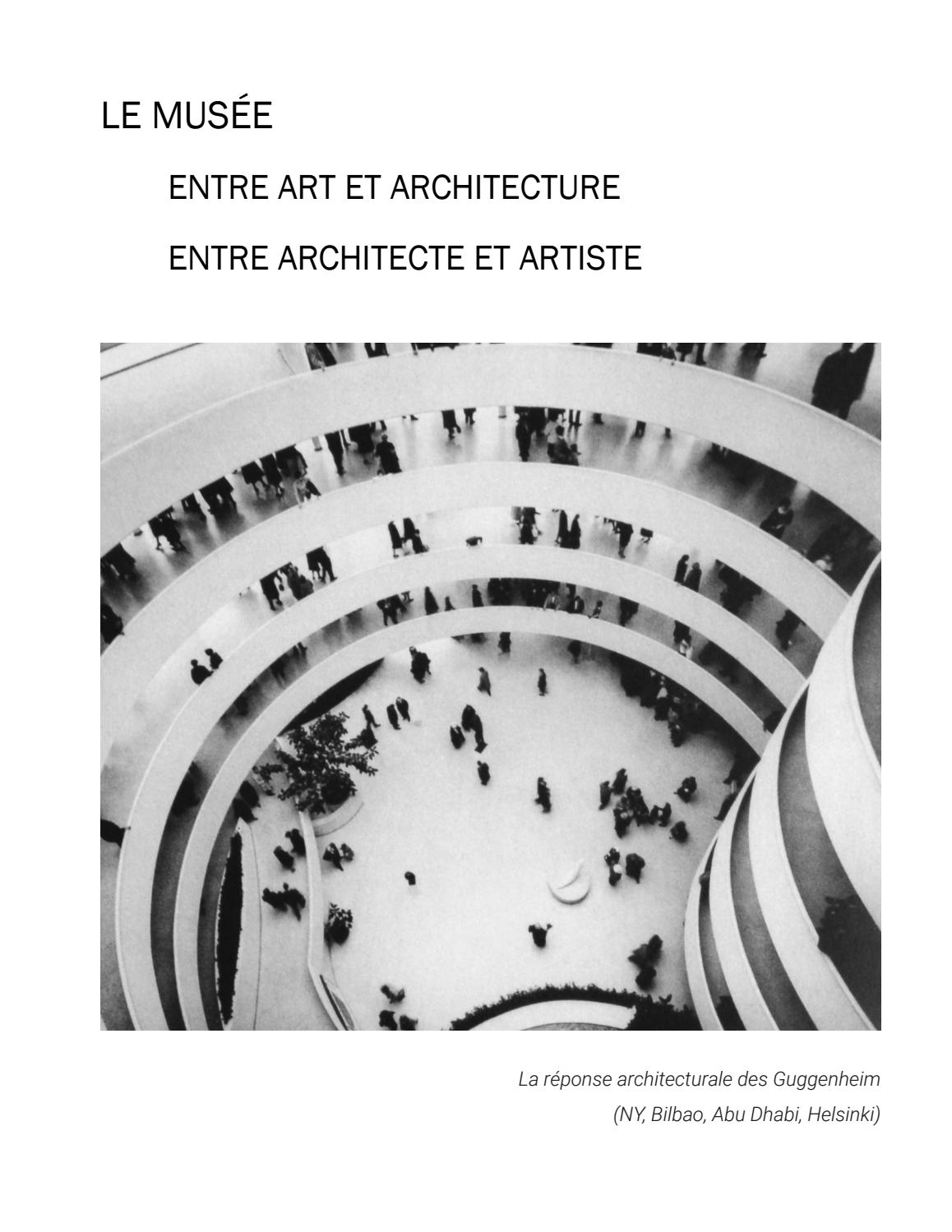 Falasca giulia le mus e entre art et architecture entre for Architecture et art