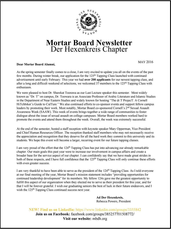 mb alumni newsletter spring 2016 by der hexenkreis cornell mb alumni newsletter spring 2016 by der hexenkreis cornell university issuu