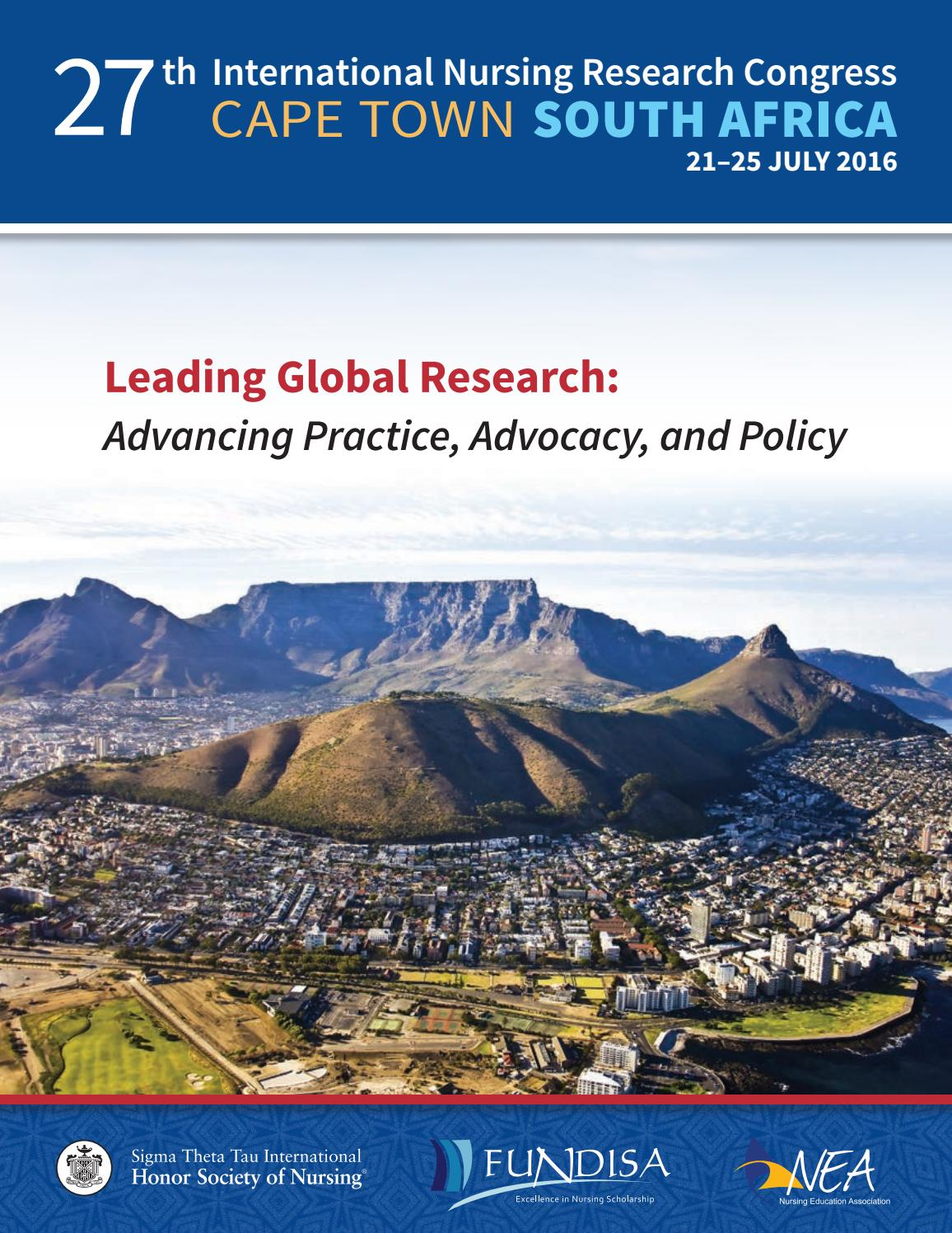 education what policy strategy going global conference cape town