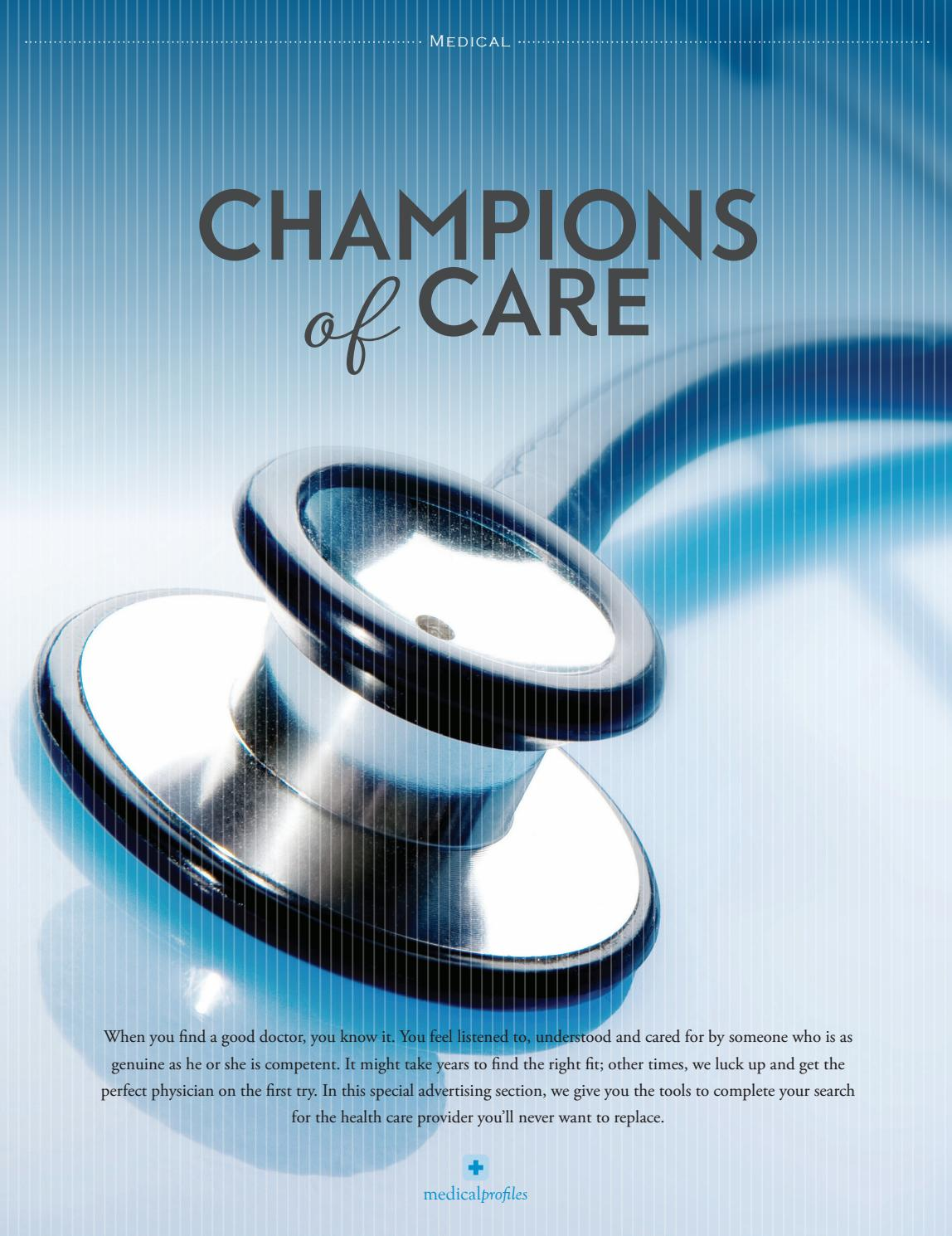 top doctors by fergus media issuu champions of care