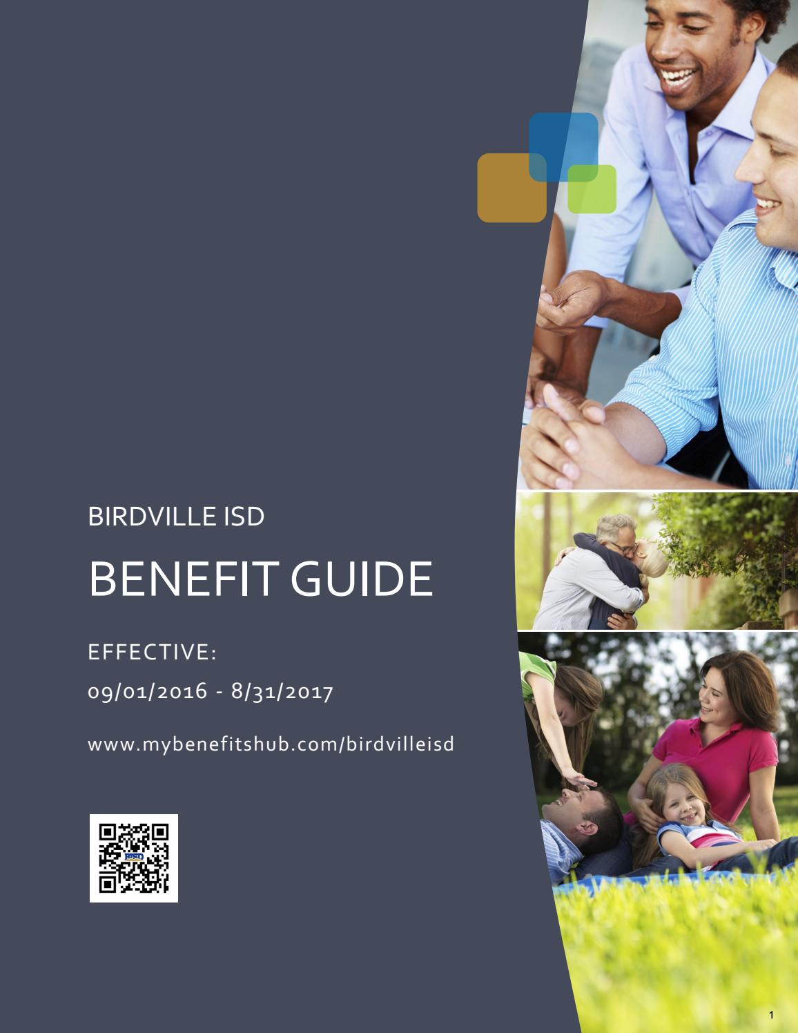 benefit guide birdville isd by fbs issuu