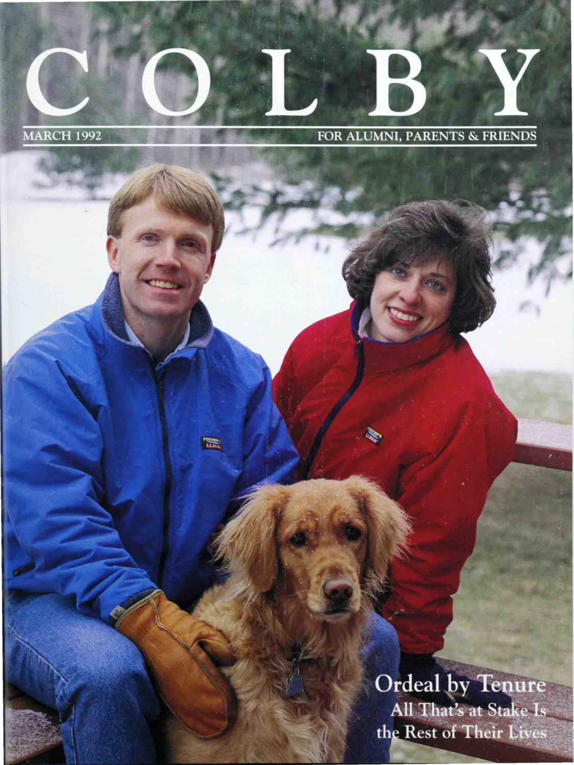 Colby Magazine vol. 83, no. 2 by Colby College Libraries - issuu