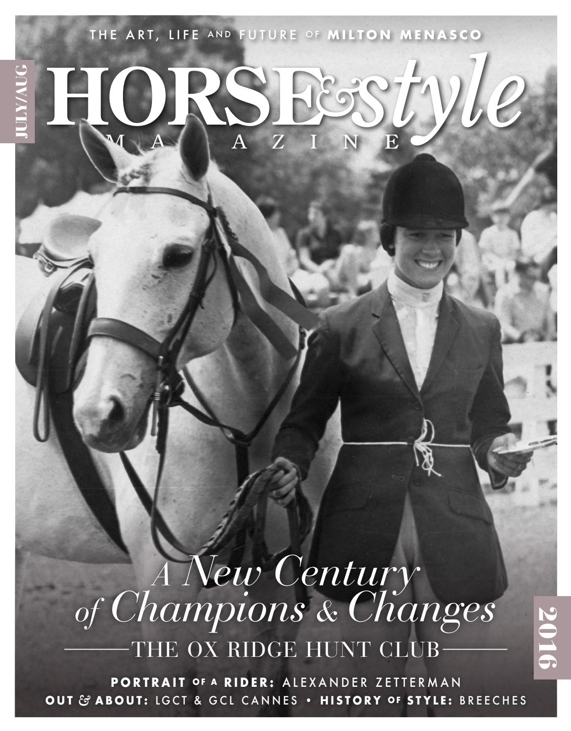Horse & Style Magazine July/August 2016 by Horse & Style ...