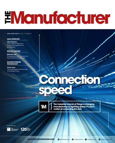 The Manufacturer July/August 2016