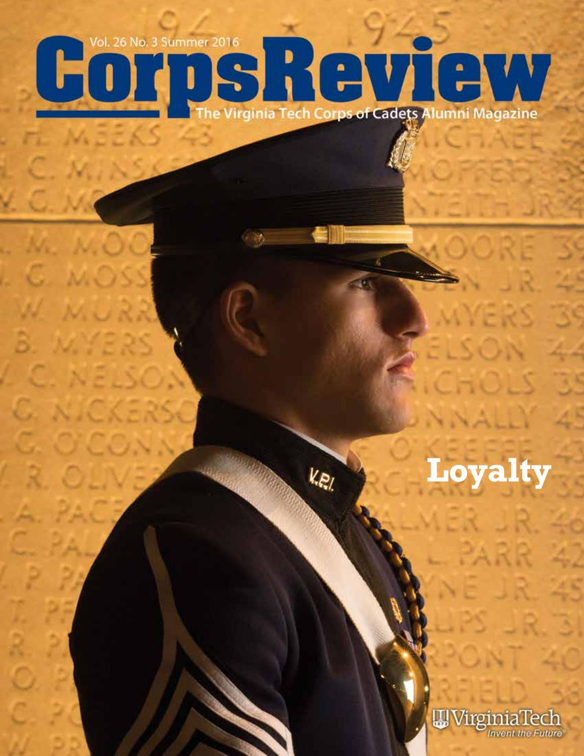 corps review summer 2016 by virginia tech corps of cadets alumni corps review summer 2016 by virginia tech corps of cadets alumni issuu