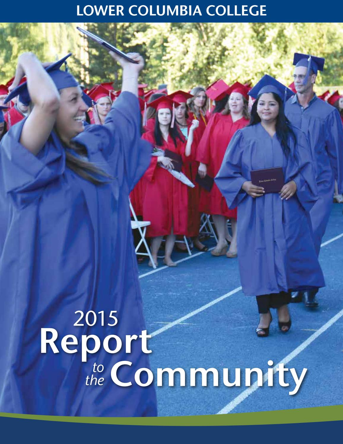 annual report to the community by lower columbia college issuu 2015 annual report to the community