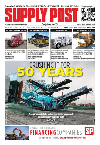 Supply Post Eastern Cover - August 2016