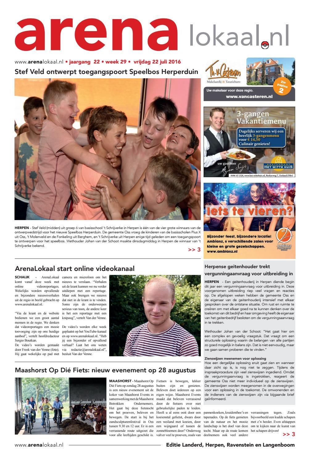 Weekblad arenalokaal editie landerd, ravenstein en herpen week 29 ...