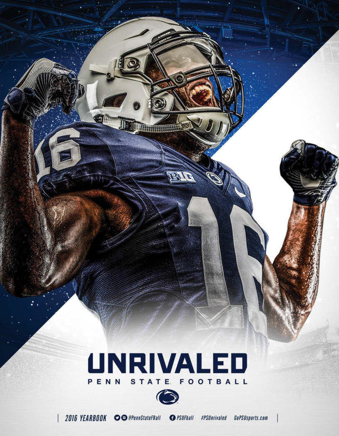 NFL Jerseys Nike - 2016 Penn State Football Yearbook by Penn State Athletics - issuu