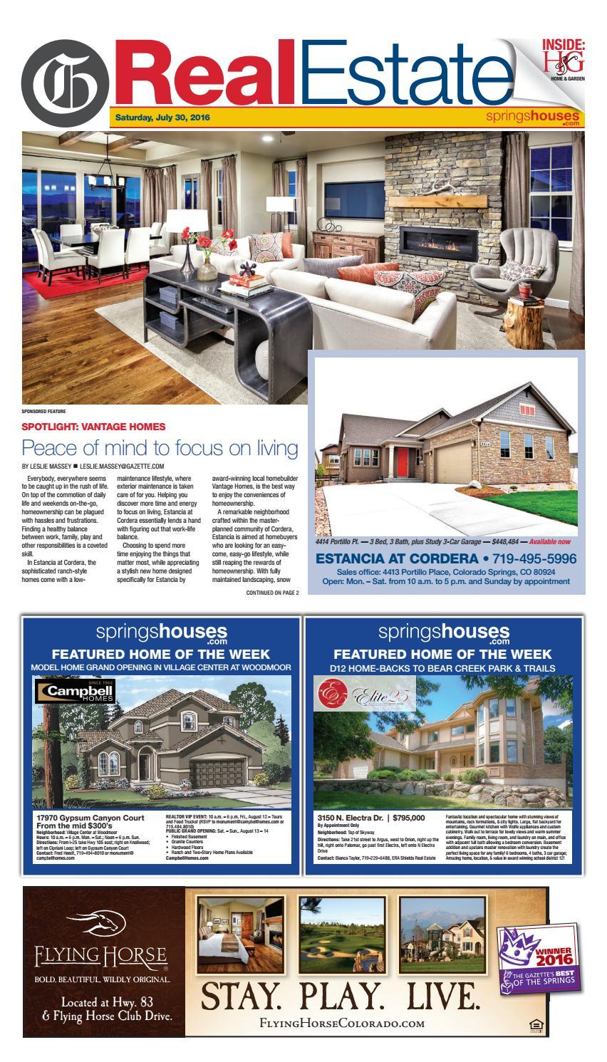 real estate by colorado springs gazette llc issuu
