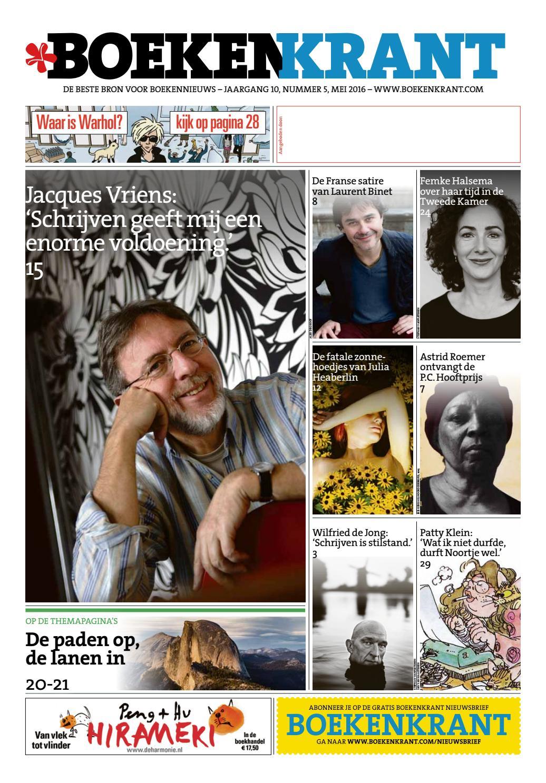 Boekenkrant juni 2015 by redactie boekenkrant   issuu