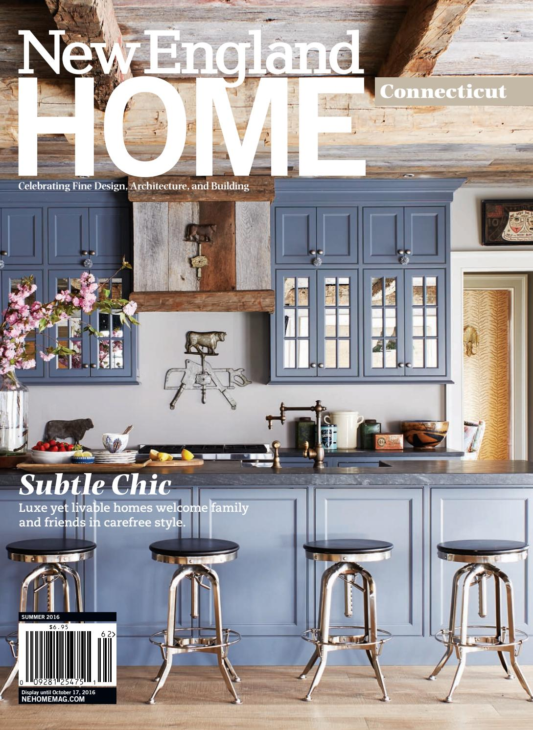 Connecticut Summer 2016 By New England Home Magazine Llc Issuu