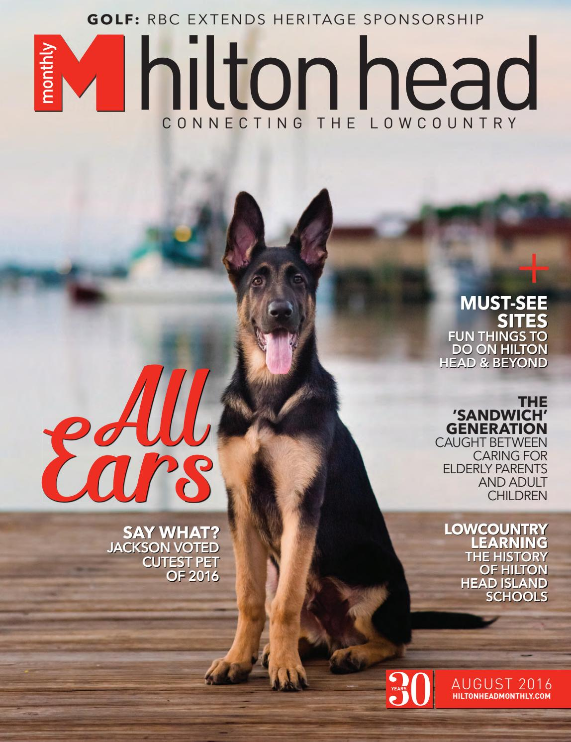 Hilton head monthly august 2016 (new) by hilton head monthly   issuu