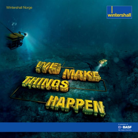 Wintershall Norge: We make things happen