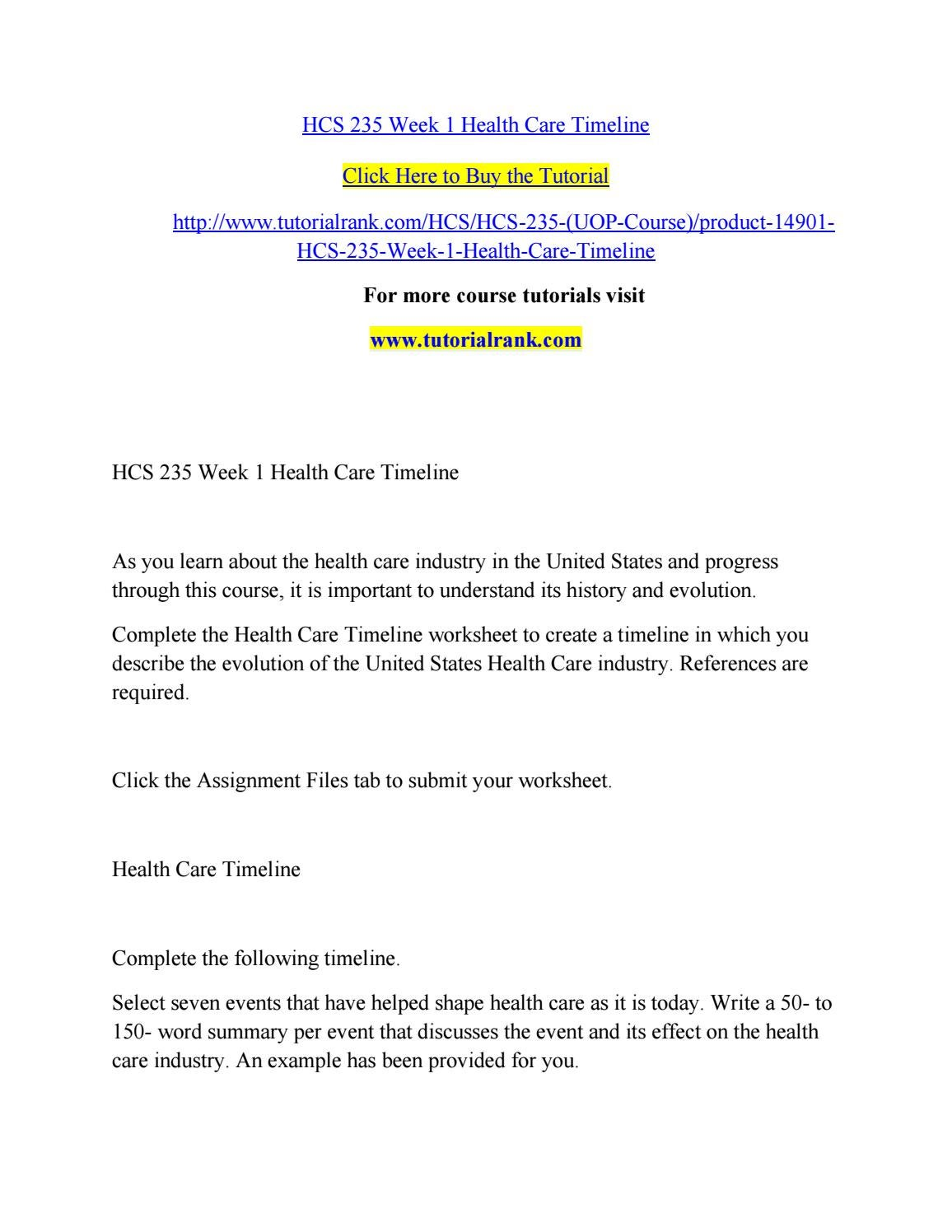 HCS 531 WEEK 4 Health Care Careers Diagram and Summary
