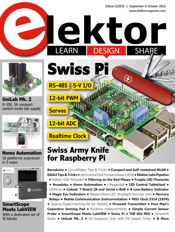 Elektor Magazine Edition 5 2016 By Elektor Issuu